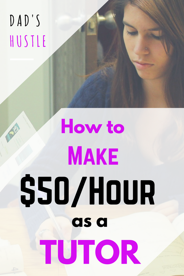 Start a Tutoring Business and Make $50 an Hour