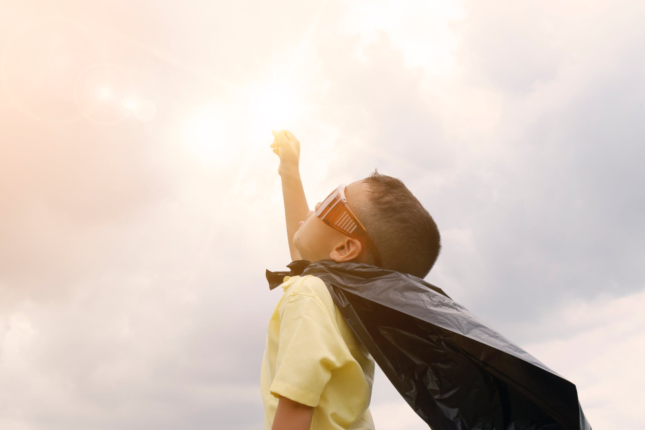 Super Child! Encouraging Our Children To Be More Courageous